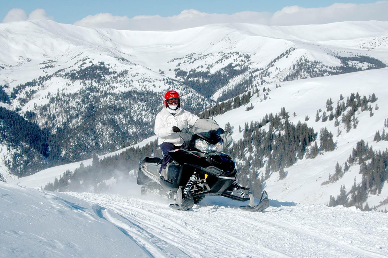 High Mountain  To  Hour Snowmobile Tours